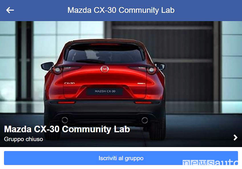 Mazda CX-30 Community Lab