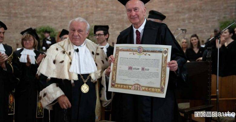motore diesel common rail Mario Ricco laurea