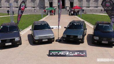 Raduno Fiat Uno Turbo Reggia di Caserta 2019