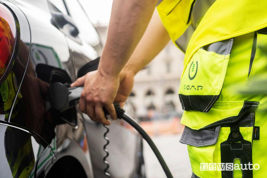 soccorso stradale Europ Assistance auto elettriche