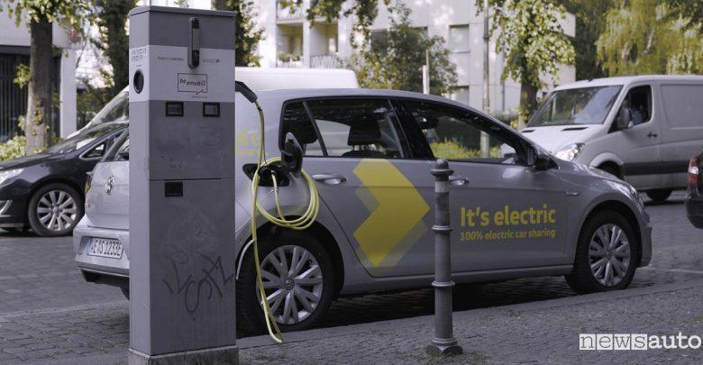 Noleggio auto elettriche Volkswagen Berlino