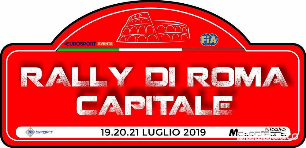 Logo Rally di Roma Capitale 2019
