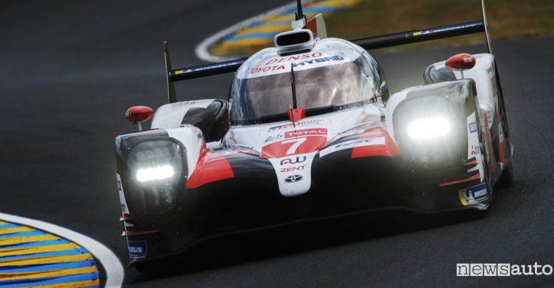 Qualifiche Le Mans 2019 Toyota