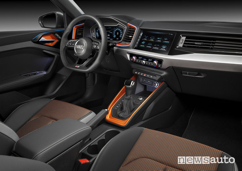 Audi A1 citycarver plancia strumenti