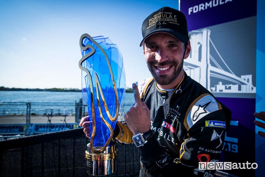 Jean-Eric Vergne Campione del Mondo Formula E 2019