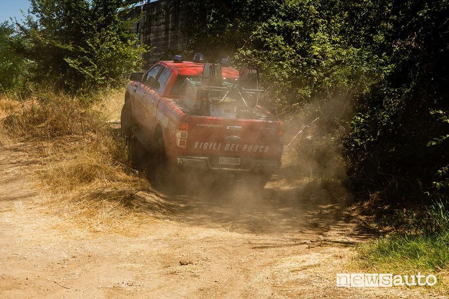 Ford Ranger pick-up Vigili del Fuoco