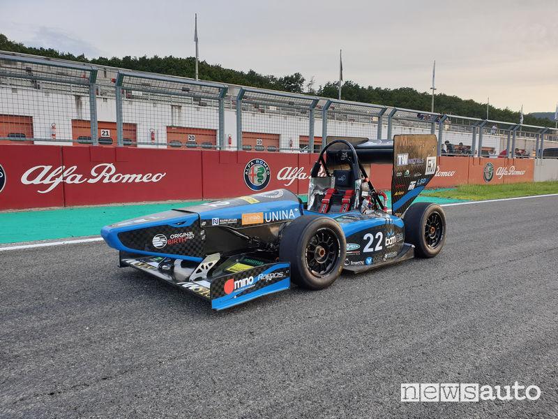 Formula SAE Italy 2019 monoposto UniNa Corse - Squadra Corse Università di Napoli Federico II