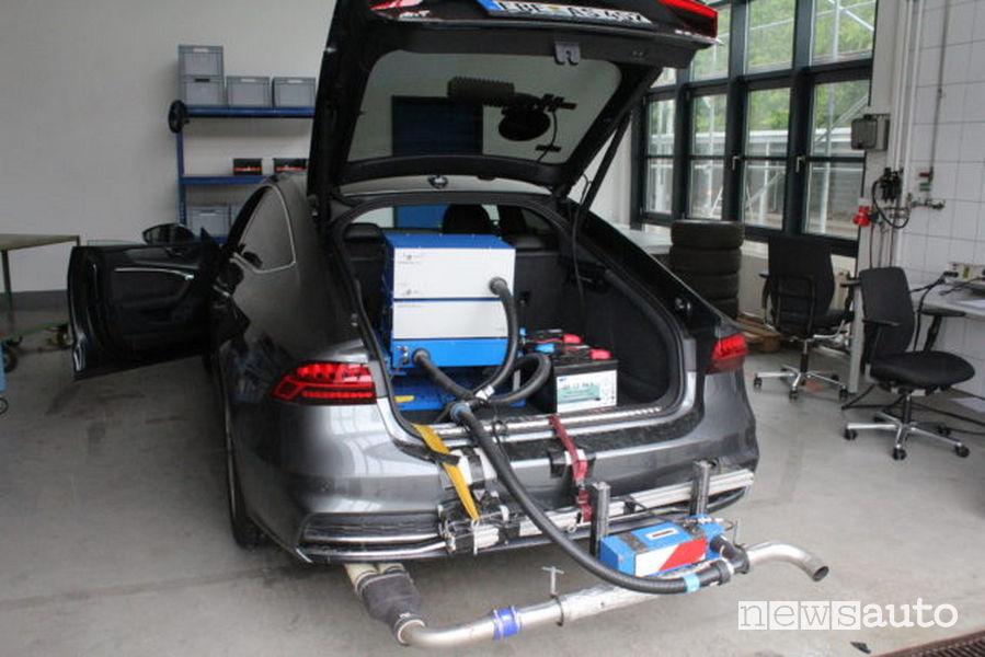 test emissioni auto reali Green NCAP