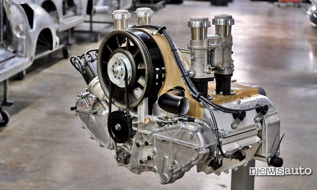 Motore 4 cilindri turbo Emory Porsche 356 RSR