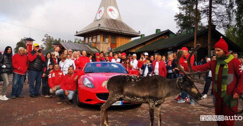 Record Ferrari circolo polare artico