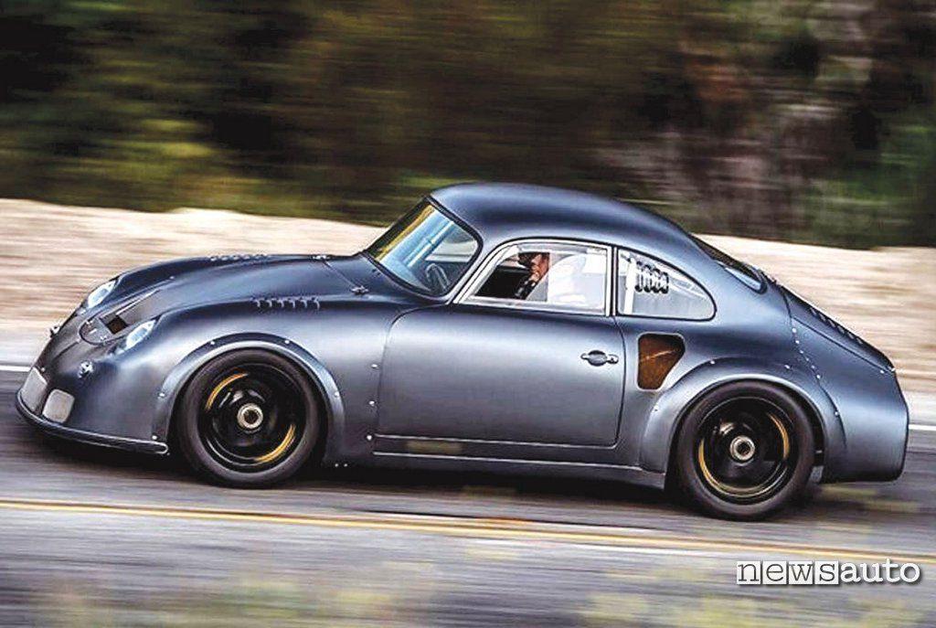Vista laterale Emory Porsche 356 RSR