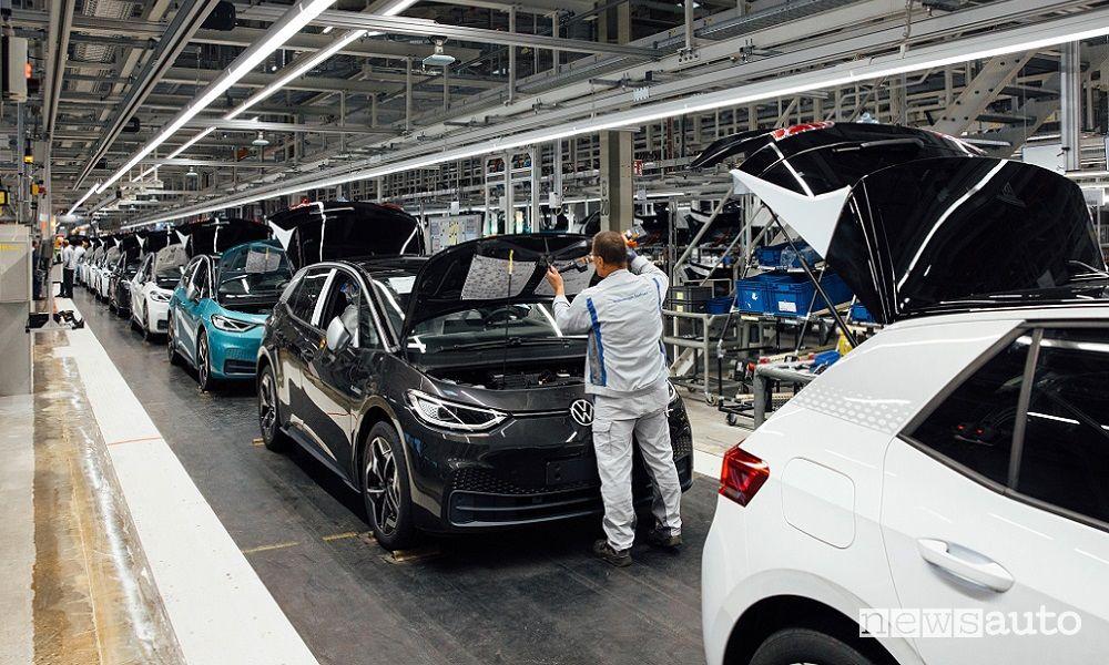 Fabbrica Volkswagen auto