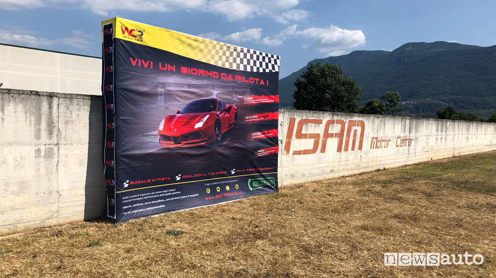 We Can Race all'Isam di Anagni ti fa diventare pilota di un Ferrari