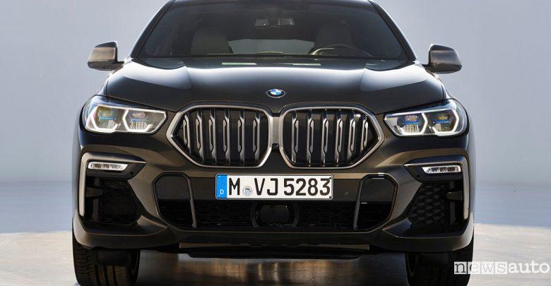 Nuova BMW X6 2020