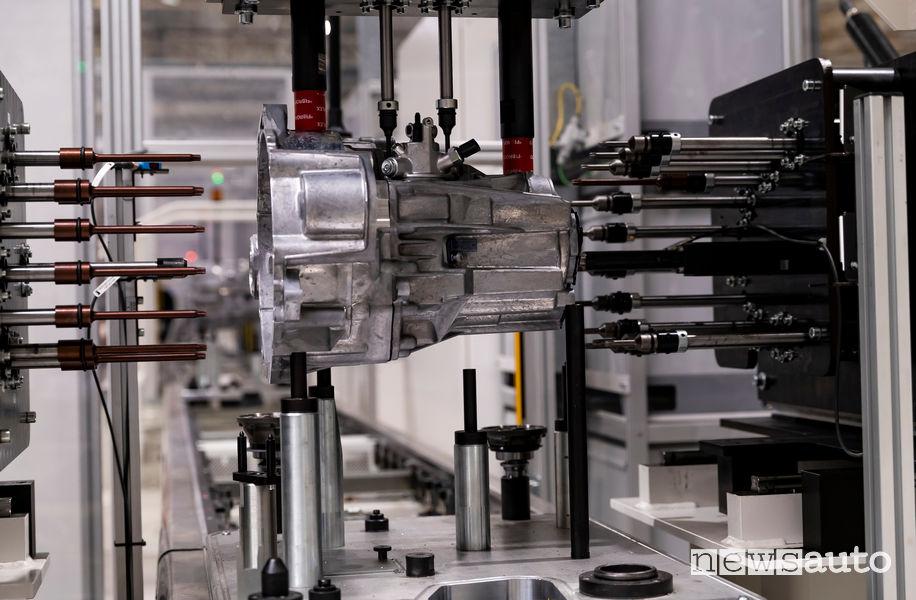 produzione cambio manuale 6 rapporti Volkswagen MQ281