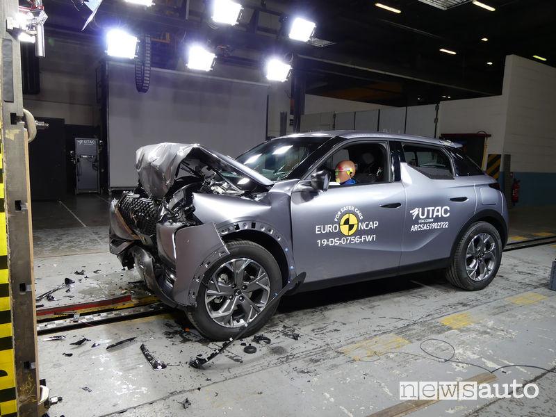 Crash test Euro NCAP DS 3 Crossback