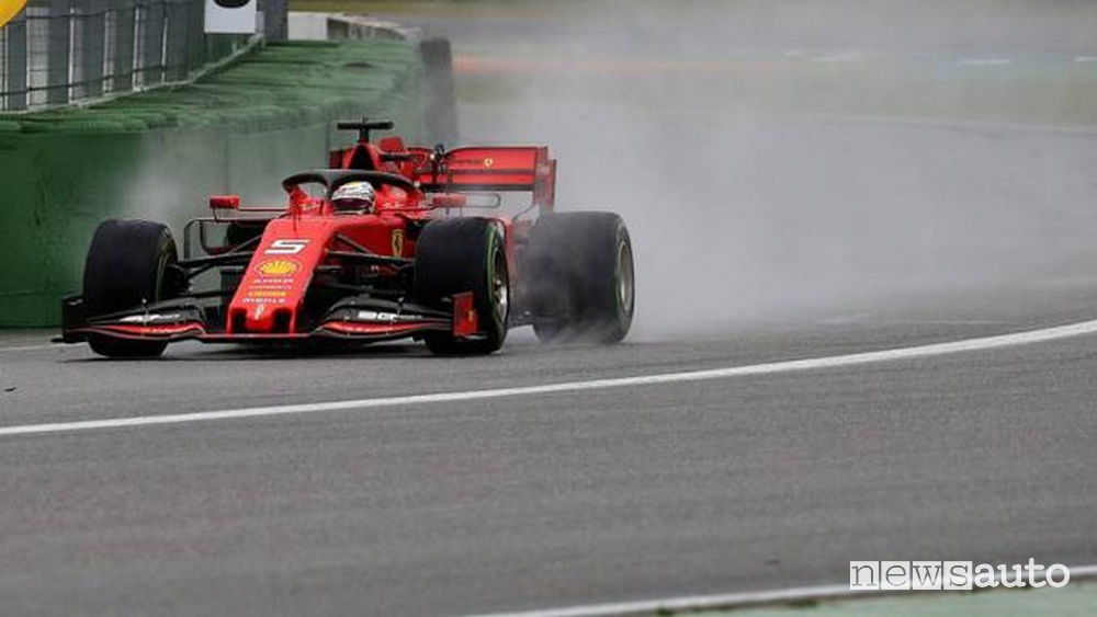 Sebastian Vettel Ferrari GP Germania 2019
