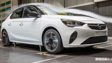 Aerodinamica nuova Opel Corsa 2019