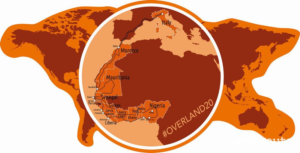 Mappa Overland 20