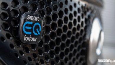 Smart EQ forfour auto elettrica 5 porte