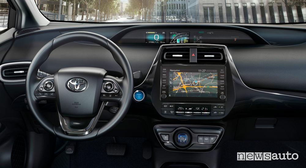 Toyota Prius Plug-In Hybrid plancia strumenti