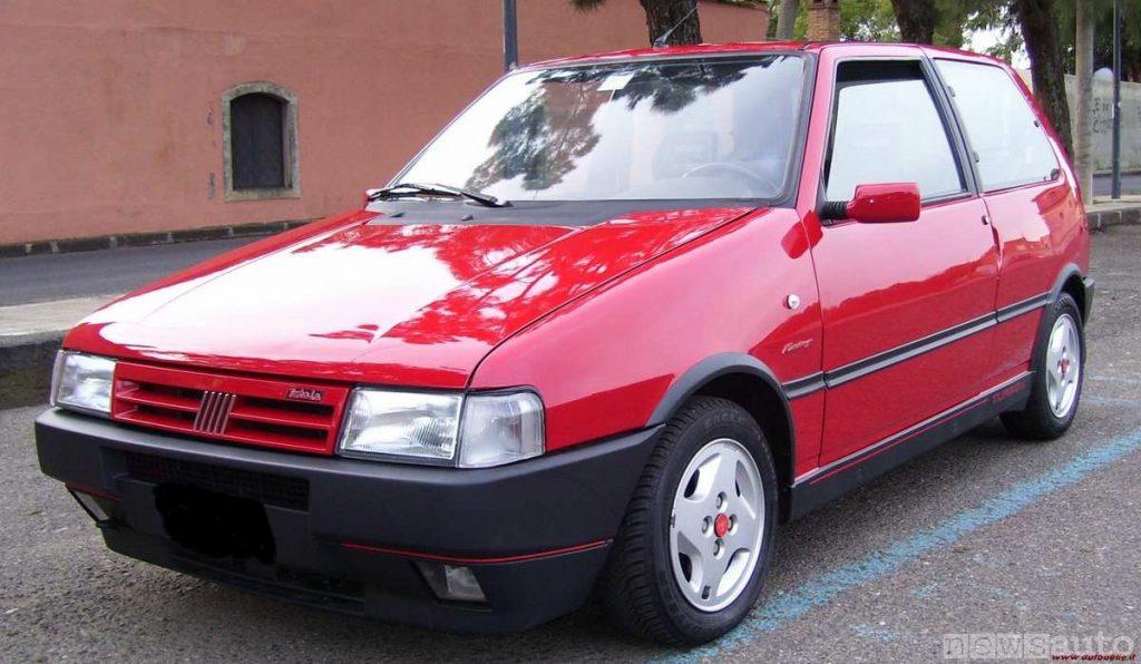 Fiat Uno seconda serie versione Turbo