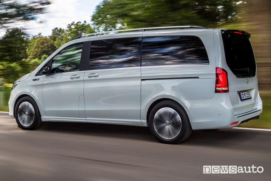 Mercedes-Benz EQV porta scorrevole laterale