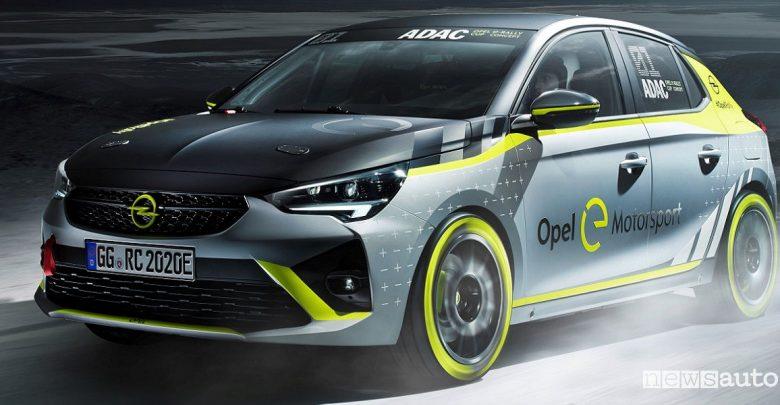 Gare Rally auto elettriche ADAC Opel e-Rally Cup