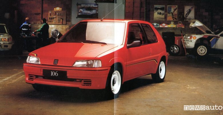 Peugeot Competition 106 Rallye