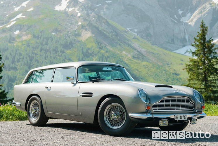 auto james bond aston martin db5 shooting brake