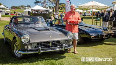 Photo of Concorso Italiano in USA, Ferrari 250 GT II Cabriolet è la Best in Show 2019