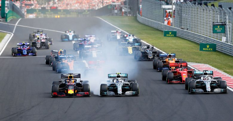 F1: Ungheria; libere 2 bagnate, Vettel il più veloce