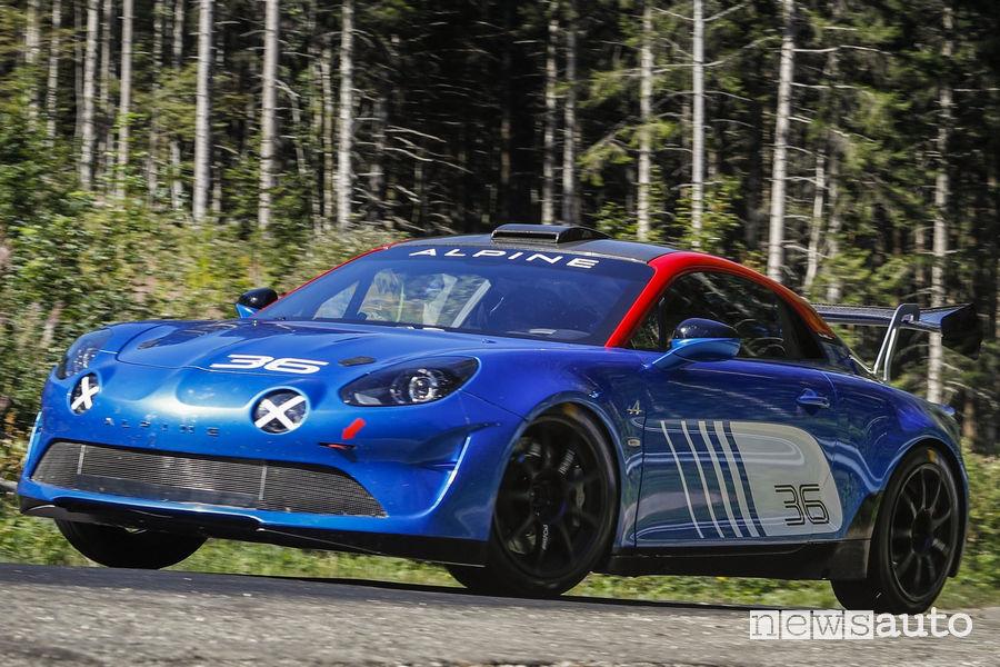 Frontale, fari a LED Alpine A110 Rally