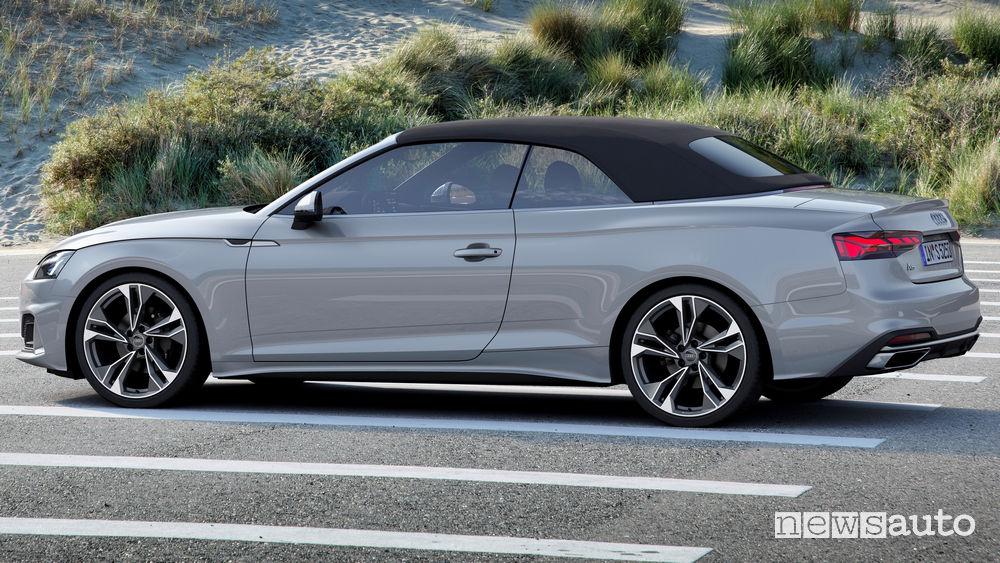 Tetto chiuso Audi A5 Cabriolet