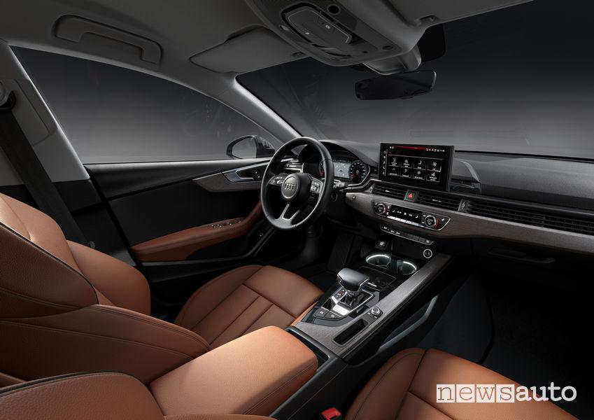 Sedili sportivi, leva cambio automatico Audi A5 Sportback