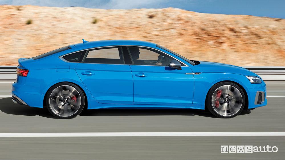 Minigonne laterali Audi S5 Sportback TDI