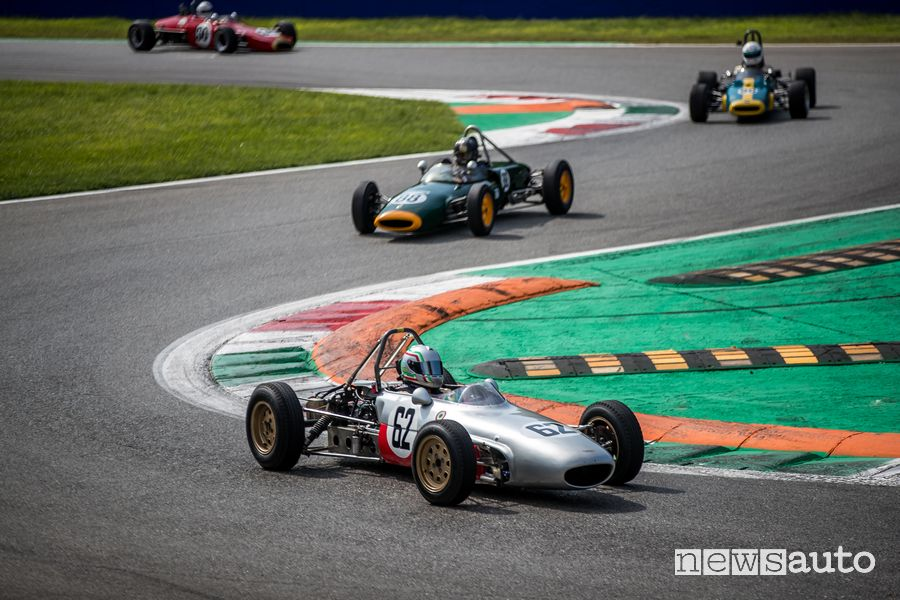 Branca FJ F3 1963 Formula Junior e Historic F3 Gare auto storiche Monza Historic 2019