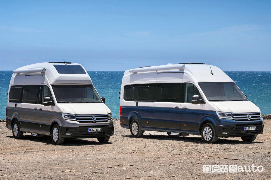Camper Volkswagen Grand California misure 600 e 680