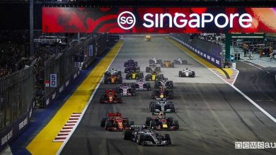 Photo of Orari Gp Singapore F1 2019, diretta SKY e differita TV8