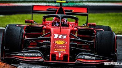 Qualifiche F1 Gp Italia 2019 Ferrari Charles Leclerc
