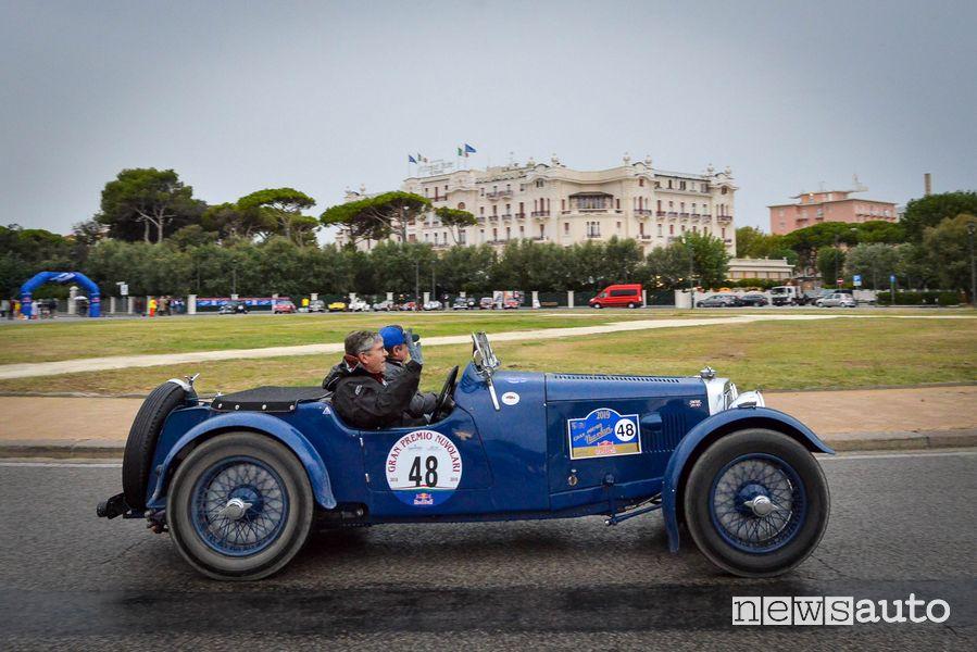 Aston Martin Le Mans 1933 al Gp Nuvolari 2019