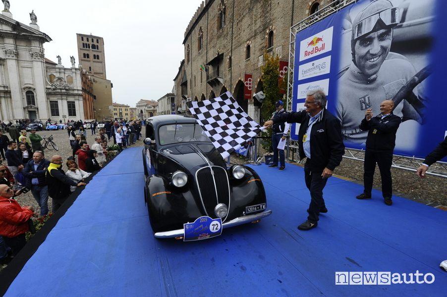 Arrivo e vincitore Gp Nuvolari 2019