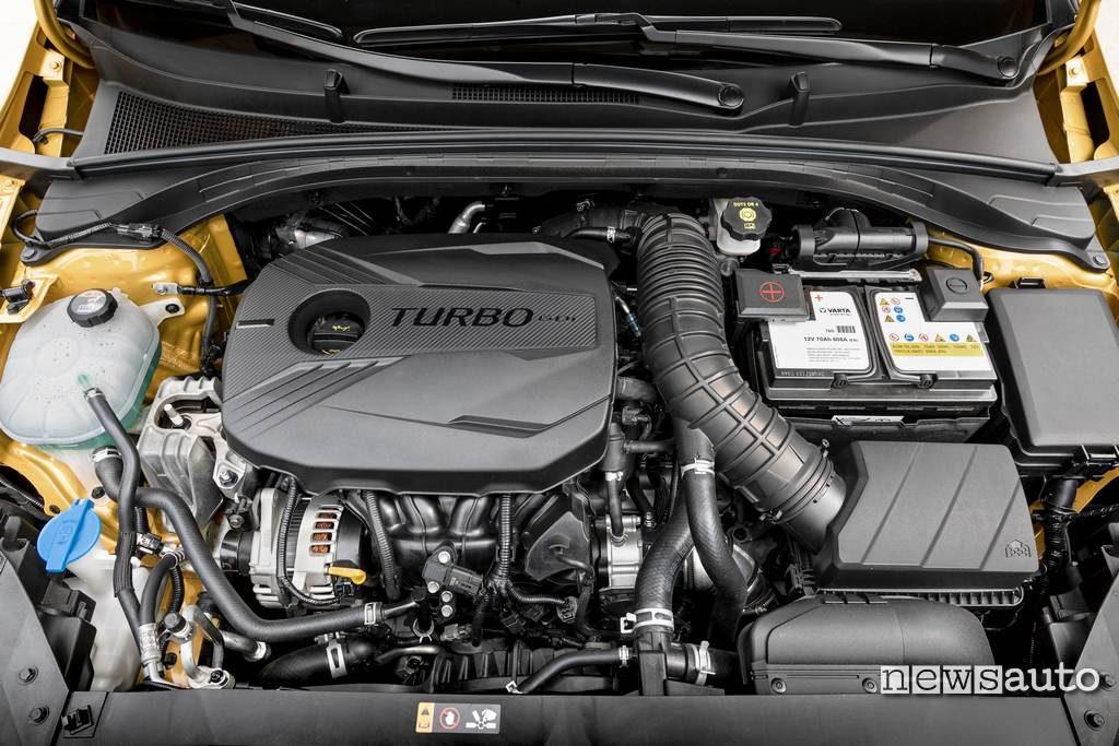 Kia Xceed motore 1.4 turbo