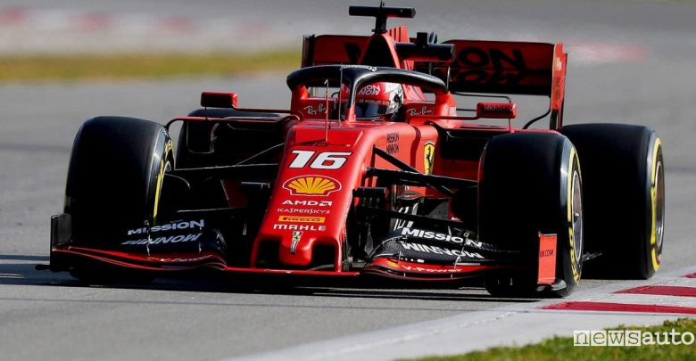 F1 Gp Belgio 2019 Ferrari Leclerc