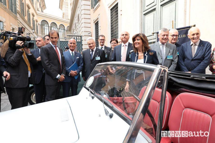 La Presidente del Senato Maria Elisabetta Alberti Casellati riceverà il Premio ASI per il Motorismo Storico