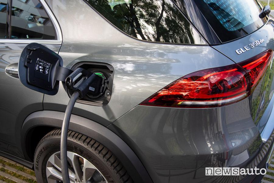 Ricarica corrente continua DC Mercedes-Benz GLE 350 de 4MATIC