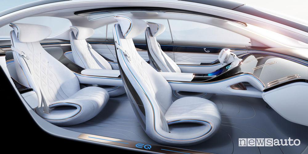 Abitacolo Mercedes-Benz VISION EQS
