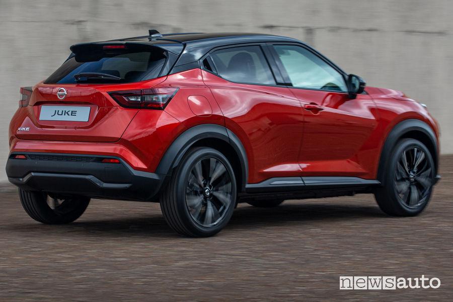 Nissan Juke 2020 passaruota laterali