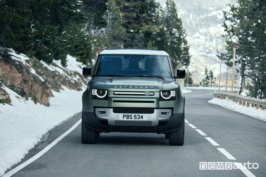 Frontale, paraurti nuovo Land Rover Defender 90 2020