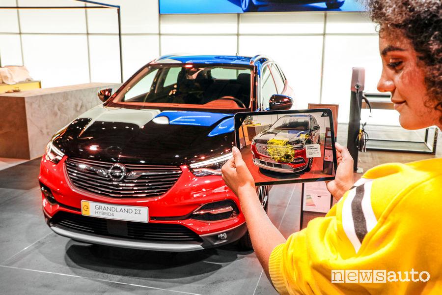 caratteristiche tecniche Opel Grandland X realtà aumentata